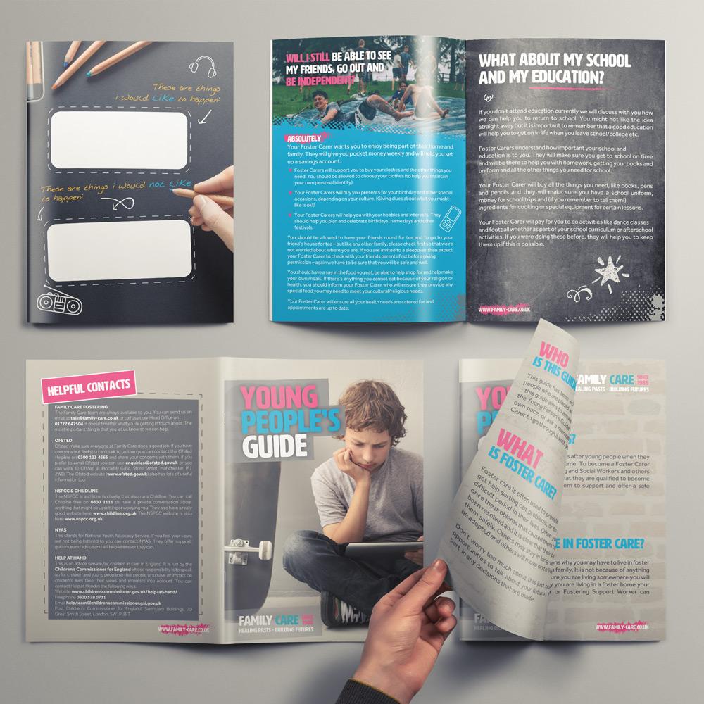 Preston & blackburn website design