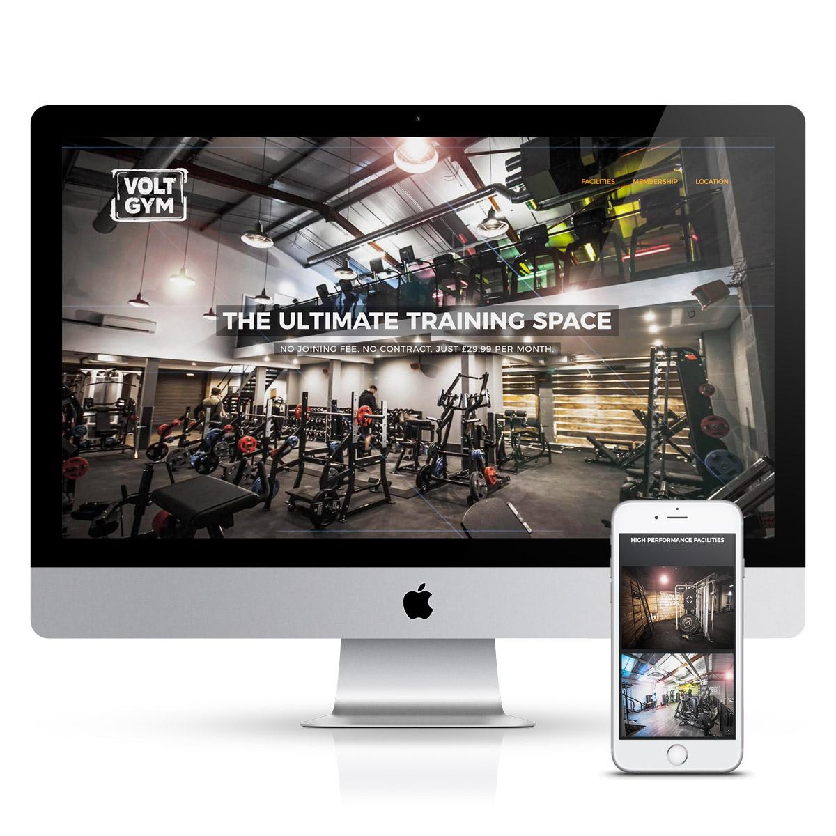 improve seo volt brochure website design services lancashire
