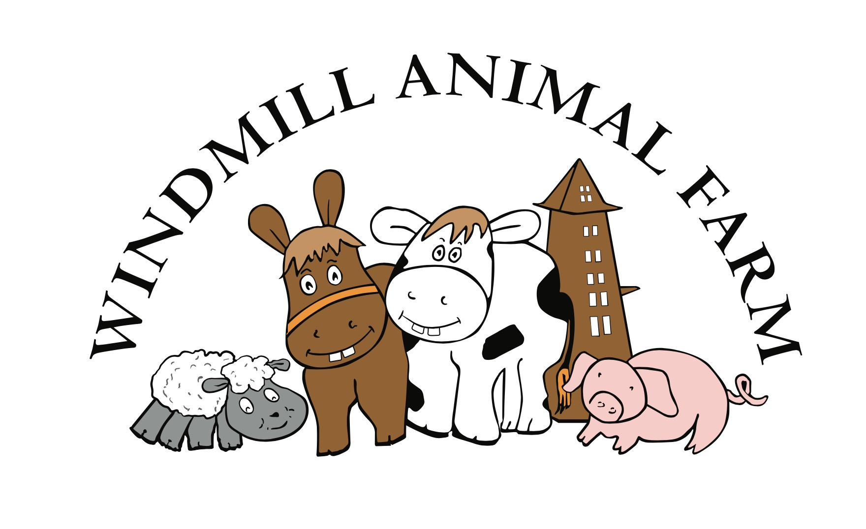 windmill animal farm website design
